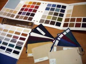 ノマド製品にが豊富な種類の豊富なカラーのレザーが使われます
