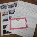 被災地マッサージボランティアに行かれた方からのお手紙