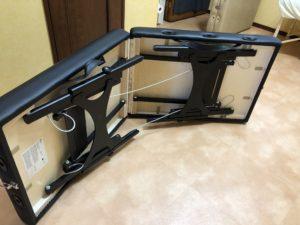 ノマドオステオのブラックニス塗加工