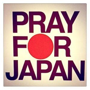 PRAY FOR JAPAN 東日本大震災