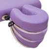 ノマドマッサージテーブルのヘッドレストは角度と高さ調整可能
