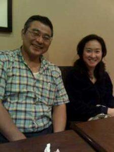 ラベンダーヒルのセラピスト岡田さんと増子社長