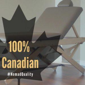 ノマドの製品は100%カナダ製