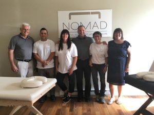 2017年ノマド社の幹部スタッフたち