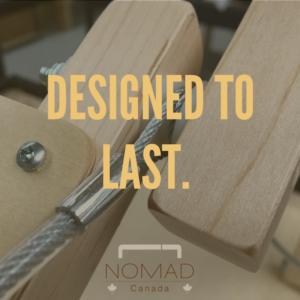 製品が一生ものになるよう作られたノマドマッサージテーブル