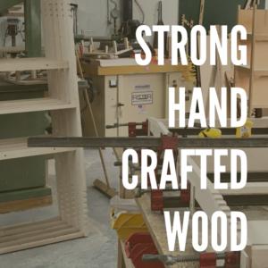 強いハンドクラフトされた木材使用のノマドベッド